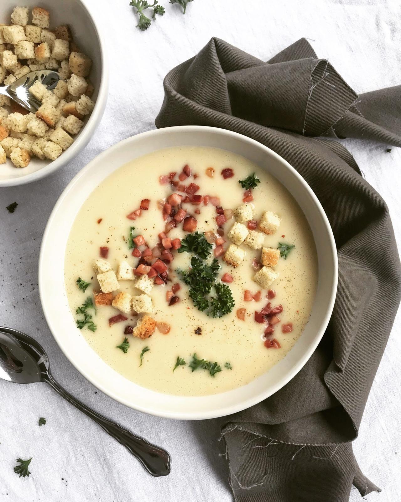 Kartoffel Rahm Suppe