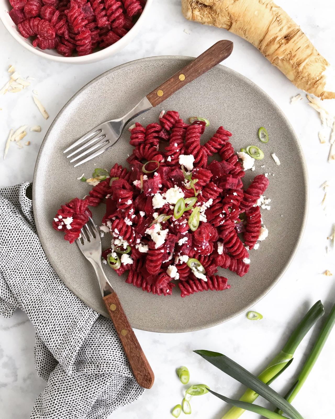 Rote Rüben Pasta – One Pot