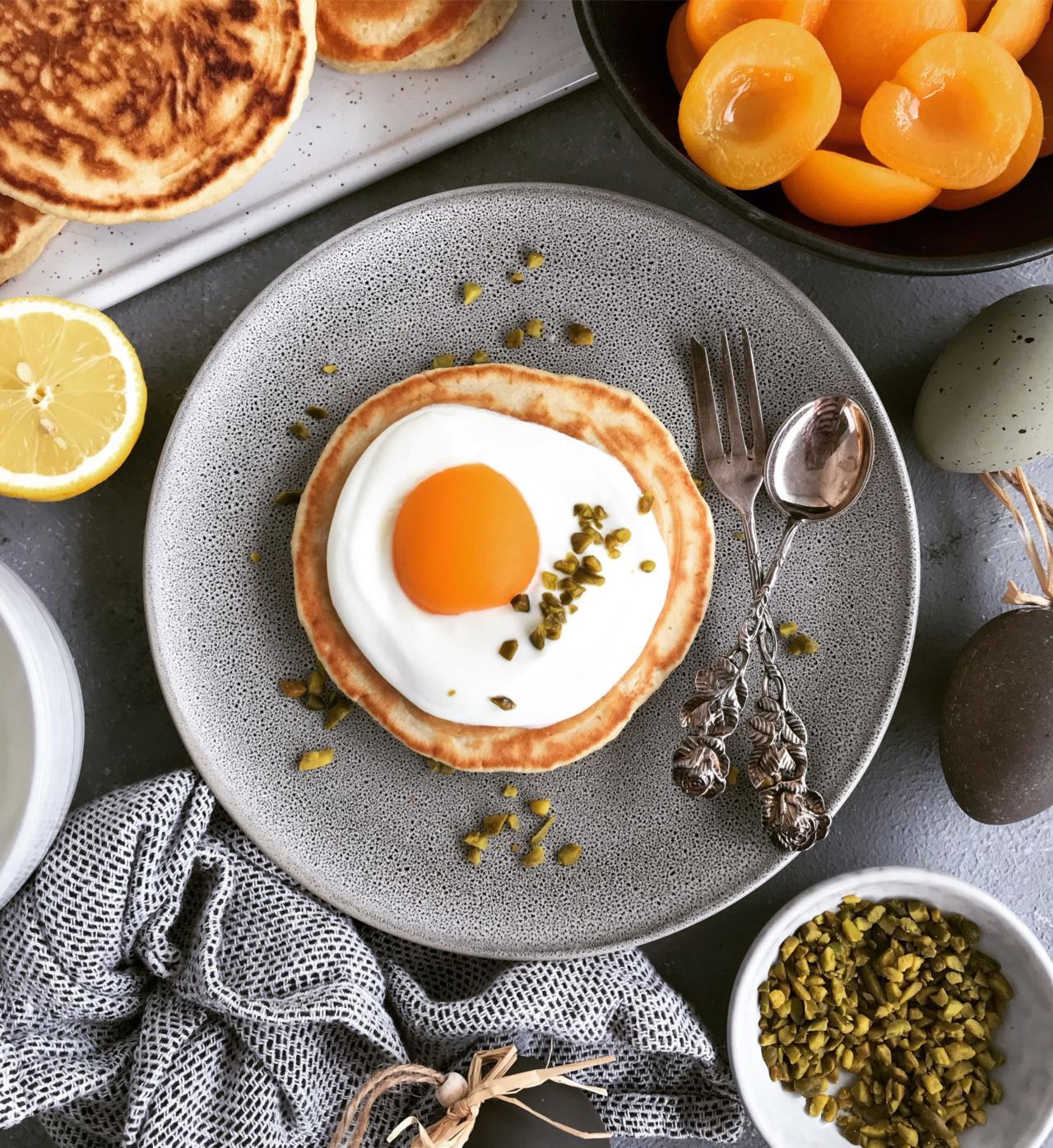 Spiegelei Pancakes