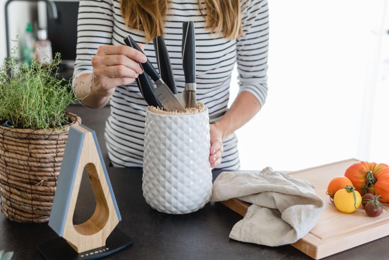 Kleine Messerkunde & Messerblock DIY