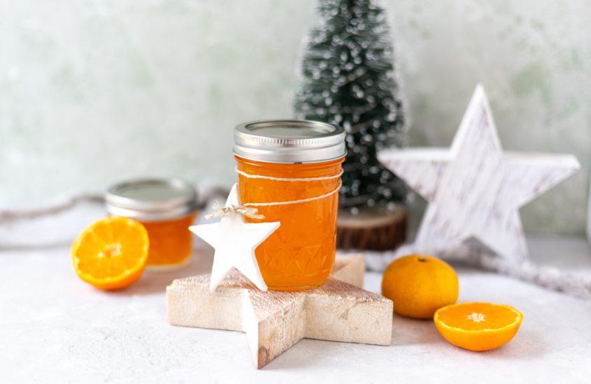 Weihnachtliche Mandarinen Marmelade