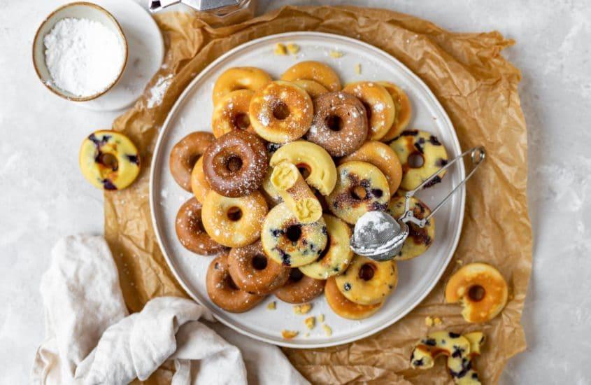 Mini Donuts aus dem Donutmaker